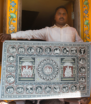 Raghurajpur As A Heritage Village
