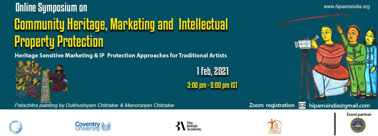 Online symposium on Community Heritage, Marketing and IP protection
