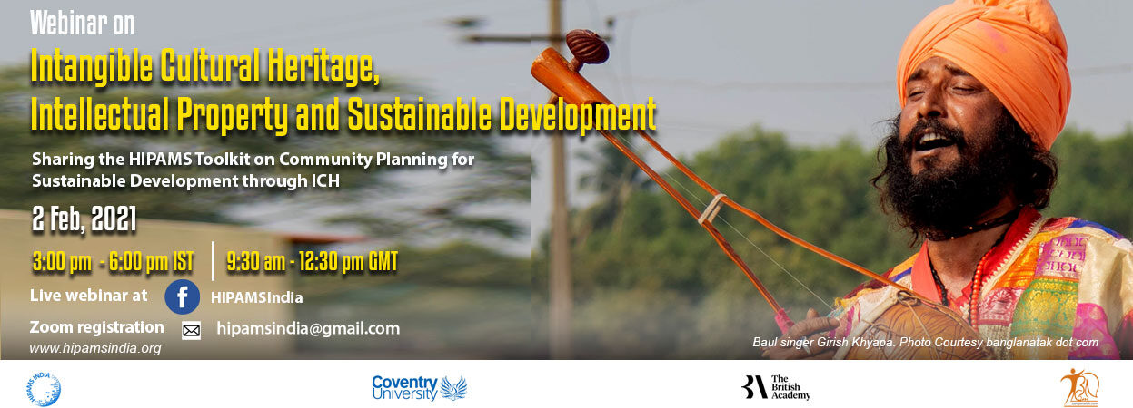 Online webinar on IP, ICH and Sustainable Development