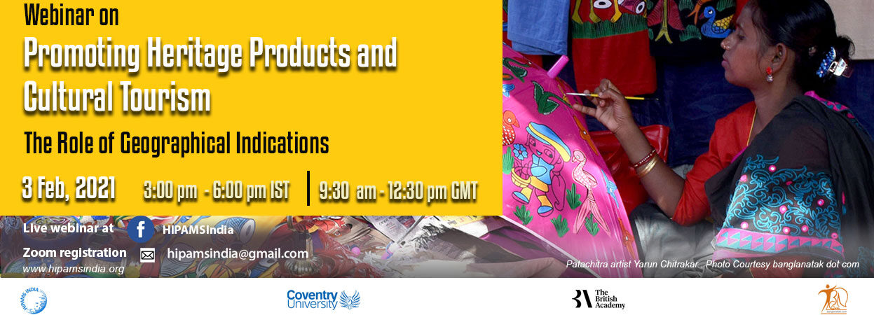 Online webinar on Promoting Heritage Products and Cultural Tourism