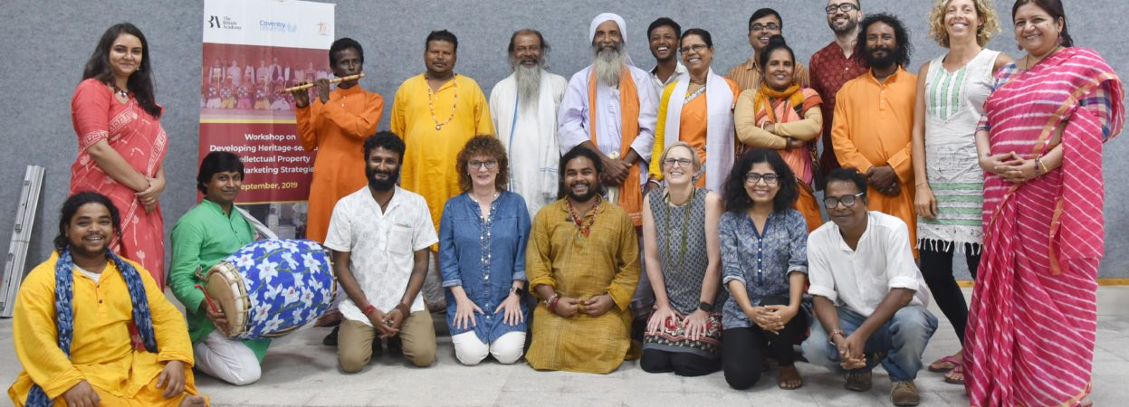 Heritage-sensitive Intellectual Property and Marketing Strategy development workshops with the Patachitra, Chau and Baul artists